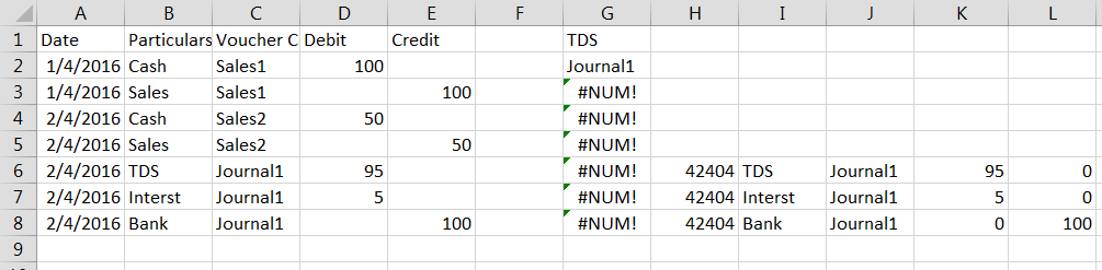 Multiple filter criteria solution
